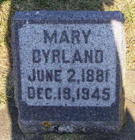 DYRLAND, MARY - Winneshiek County, Iowa   MARY DYRLAND