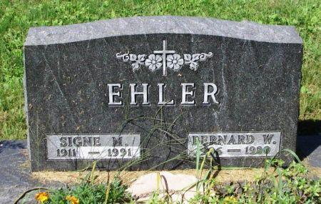 EHLER, BERNARD W. - Winneshiek County, Iowa | BERNARD W. EHLER