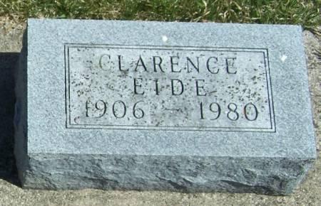 EIDE, CLARENCE - Winneshiek County, Iowa | CLARENCE EIDE