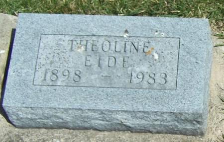 EIDE, THEOLINE - Winneshiek County, Iowa | THEOLINE EIDE