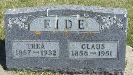 EIDE, THEA - Winneshiek County, Iowa | THEA EIDE