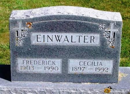 EINWALTER, CECILIA - Winneshiek County, Iowa   CECILIA EINWALTER