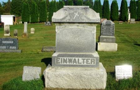 EINWALTER, FREDERICK FAMILY STONE - Winneshiek County, Iowa   FREDERICK FAMILY STONE EINWALTER