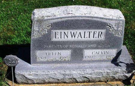 EINWALTER, CALVIN - Winneshiek County, Iowa | CALVIN EINWALTER