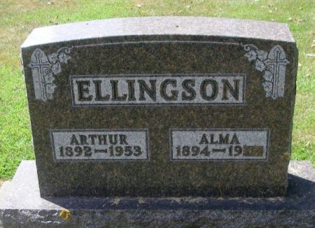 ELLINGSON, ALMA - Winneshiek County, Iowa | ALMA ELLINGSON