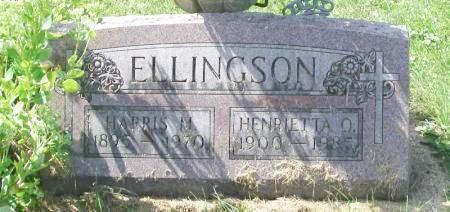 ELLINGSON, HARRIS M. - Winneshiek County, Iowa   HARRIS M. ELLINGSON