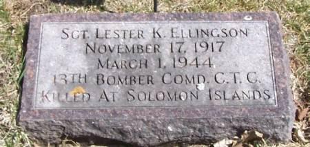 ELLINGSON, LESTER K - Winneshiek County, Iowa   LESTER K ELLINGSON