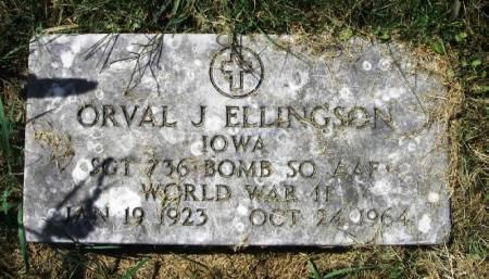 ELLINGSON, ORVAL J. - Winneshiek County, Iowa | ORVAL J. ELLINGSON