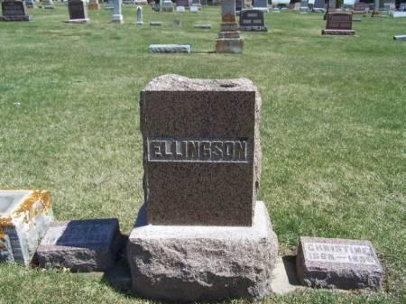 ELLINGSON, SEVER FAMILY STONE - Winneshiek County, Iowa | SEVER FAMILY STONE ELLINGSON