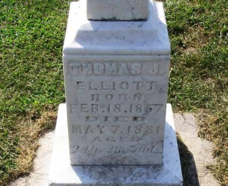 ELLIOTT, THOMAS J. - Winneshiek County, Iowa | THOMAS J. ELLIOTT
