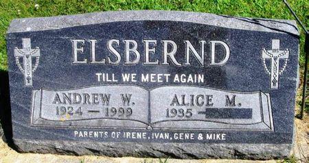 ELSBERND, ANDREW W. - Winneshiek County, Iowa | ANDREW W. ELSBERND