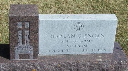ENGAN, HARLAN G - Winneshiek County, Iowa | HARLAN G ENGAN