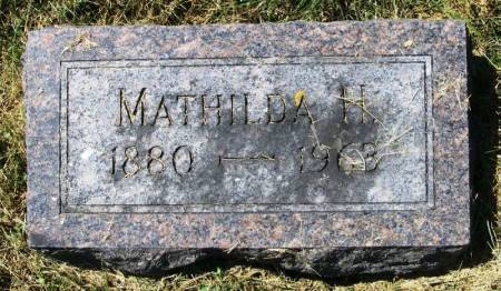 ENGEN, MATHILDA H. - Winneshiek County, Iowa | MATHILDA H. ENGEN