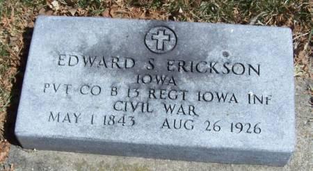 ERICKSON, EDWARD S - Winneshiek County, Iowa | EDWARD S ERICKSON