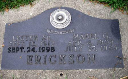 ERICKSON, LESTER SR. - Winneshiek County, Iowa | LESTER SR. ERICKSON