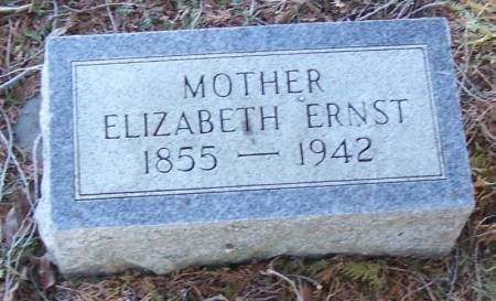 ERNST, ELIZABETH - Winneshiek County, Iowa | ELIZABETH ERNST