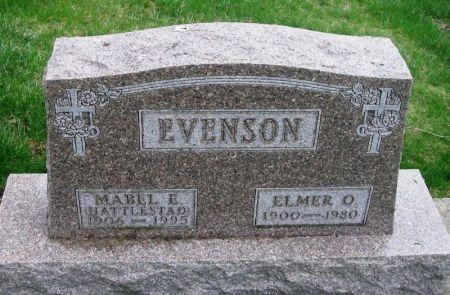 HATTLESTAD EVENSON, MABEL E. - Winneshiek County, Iowa | MABEL E. HATTLESTAD EVENSON