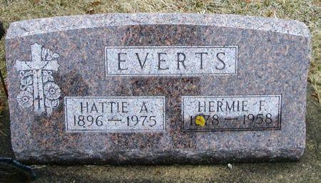 EVERTS, HERMIE F. - Winneshiek County, Iowa   HERMIE F. EVERTS