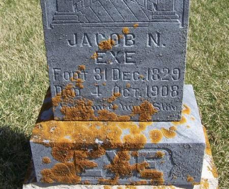 EXE, JACOB N - Winneshiek County, Iowa | JACOB N EXE