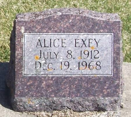 EXEY, ALICE - Winneshiek County, Iowa | ALICE EXEY