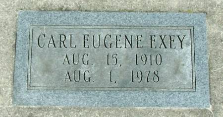 EXEY, CARL EUGENE - Winneshiek County, Iowa   CARL EUGENE EXEY