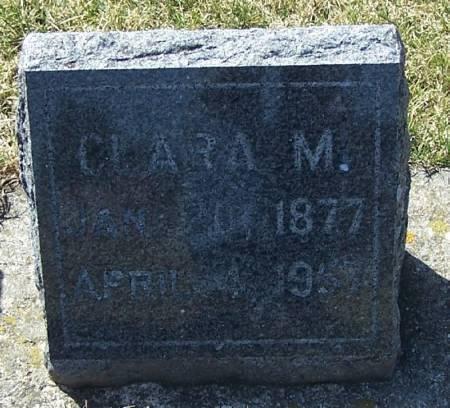 FAABERG, CLARA M - Winneshiek County, Iowa | CLARA M FAABERG