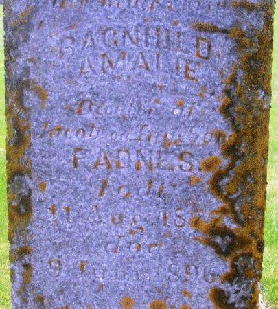 FADNES, RAGNHILD AMALIE - Winneshiek County, Iowa | RAGNHILD AMALIE FADNES