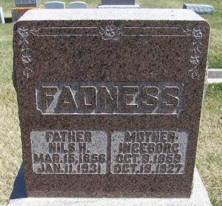FADNESS, INGEBORG - Winneshiek County, Iowa | INGEBORG FADNESS