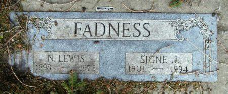 FADNESS, N. LEWIS - Winneshiek County, Iowa   N. LEWIS FADNESS
