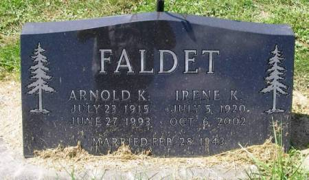 FALDET, ARNOLD K. - Winneshiek County, Iowa | ARNOLD K. FALDET
