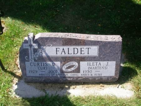 FALDET, CURTIS D. - Winneshiek County, Iowa | CURTIS D. FALDET