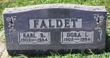 FALDET, EARL B. - Winneshiek County, Iowa   EARL B. FALDET
