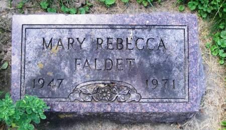 FALDET, MARY REBECCA - Winneshiek County, Iowa | MARY REBECCA FALDET
