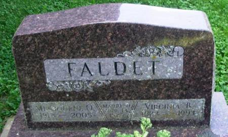 FALDET, VIRGINA B. - Winneshiek County, Iowa | VIRGINA B. FALDET