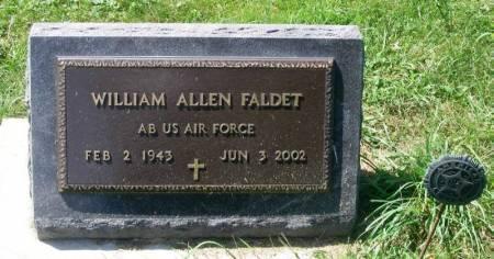 FALDET, WILLIAM ALLEN - Winneshiek County, Iowa   WILLIAM ALLEN FALDET