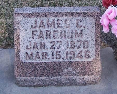 FARGHUM, JAMES C - Winneshiek County, Iowa   JAMES C FARGHUM