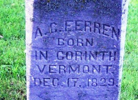 FERREN, A. C. - Winneshiek County, Iowa | A. C. FERREN