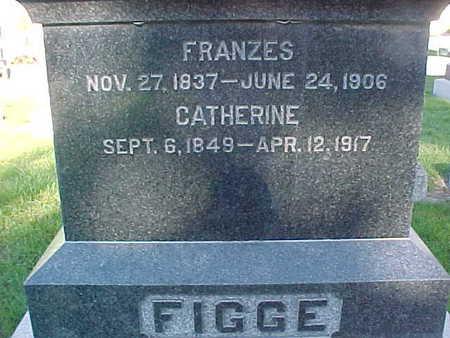 FIGGE, CATHERINE - Winneshiek County, Iowa   CATHERINE FIGGE