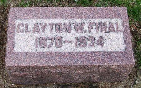FINAL, CLAYTON W. - Winneshiek County, Iowa   CLAYTON W. FINAL