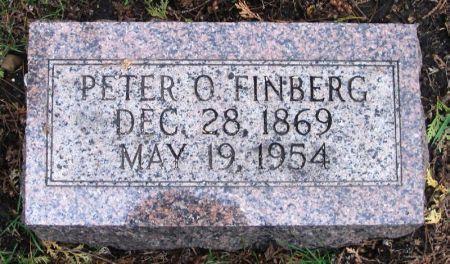 FINBERG, PETER O. - Winneshiek County, Iowa   PETER O. FINBERG