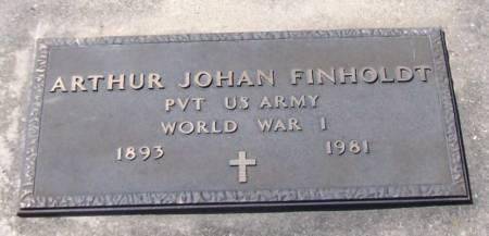 FINHOLDT, ARTHUR JOHAN - Winneshiek County, Iowa | ARTHUR JOHAN FINHOLDT