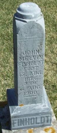 FINHOLDT, JOHN MELVIN - Winneshiek County, Iowa | JOHN MELVIN FINHOLDT