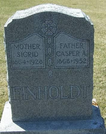 FINHOLDT, SIGRID - Winneshiek County, Iowa   SIGRID FINHOLDT
