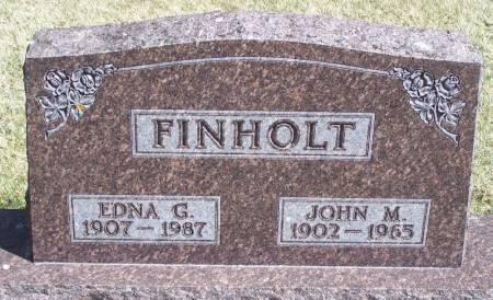 FINHOLT, JOHN M - Winneshiek County, Iowa   JOHN M FINHOLT