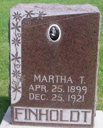 FINHOLDT, MARTHA TERESA - Winneshiek County, Iowa | MARTHA TERESA FINHOLDT