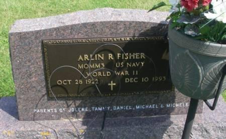 FISHER, ARLIN R. - Winneshiek County, Iowa   ARLIN R. FISHER