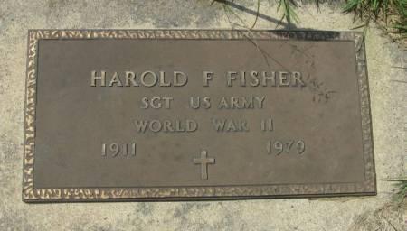 FISHER, HAROLD F. - Winneshiek County, Iowa   HAROLD F. FISHER