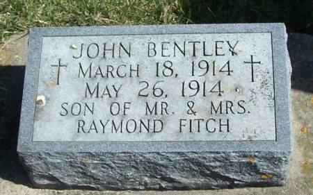 FITCH, JOHN BENTLEY - Winneshiek County, Iowa   JOHN BENTLEY FITCH