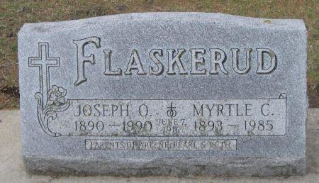 FLASKERUD, JOSEPH O. - Winneshiek County, Iowa | JOSEPH O. FLASKERUD