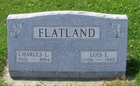FLATLAND, CHARLES L. - Winneshiek County, Iowa | CHARLES L. FLATLAND